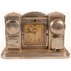 Darche Illuminated Electric Clock Bank   (106226)