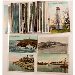 Lighthouse Postcards   (104976)