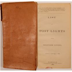 List of Lights on the Ohio, Kanawha and Tennessee Rivers Book   (106361)