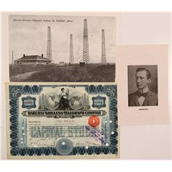 Marconi Wireless Telegraph of America stock   (106429)