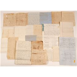 Mormon, Emigrant Trail, Gold Rush Correspondence and Personal Archive     (106525)