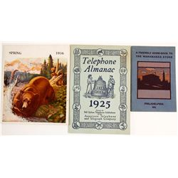Three Early Catalogs   (88204)