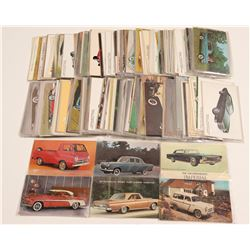 Vintage Car Postcards   (105289)