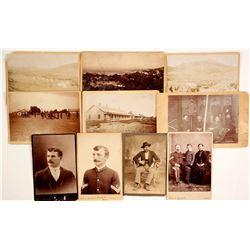 Arizona Fort Photo Archive near Tombstone, c 1885   (85778)