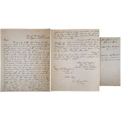 Fort Defiance Military Letter, 1858   (84876)