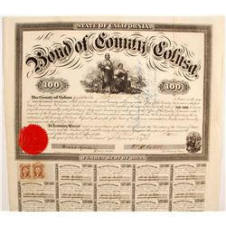 Bond of the County of Colusa   (89443)