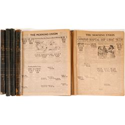 Bound Volumes of The Daily Union   (105259)
