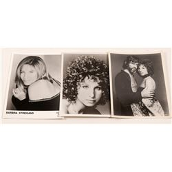 Photos /  Kristofferson & Streisand / 3 Items.   (105407)