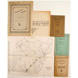 Placer County, CA Ephemera   (88339)