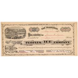 Peoples Ice Company Stock   (108062)