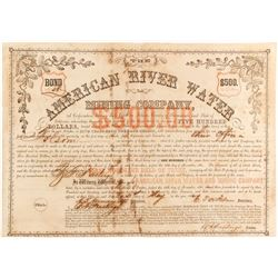 American River Water and Mining Co Bond   (83213)