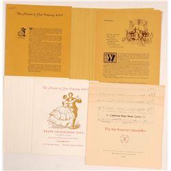 Book Club of California Ephemera   (106546)