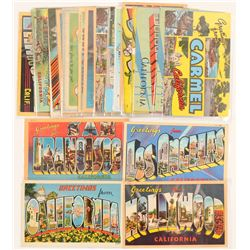 California Large Letter Postcards   (103265)