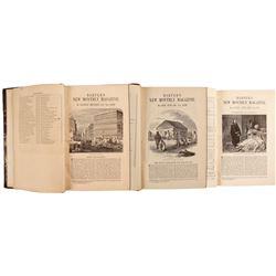 Harper's Magazine - Three Volumes on California   (80264)