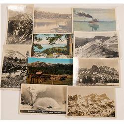 Truckee/Lake Tahoe Postcards   (105348)