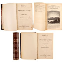 Harper's Magazine - Four Volumes on Colorado   (80262)