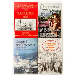 A North Georgia Journal of History (4 Books)   (57536)