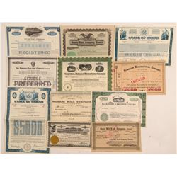 Hawaii Stock Certificates & Bonds   (107298)
