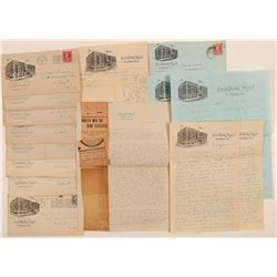 Ephemera / Personal Letters / 13 Items.   (102159)