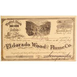Eldorado Wood & Flume Company Stock   (79237)