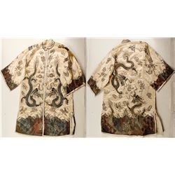 Antique Metallic Embroidered Kimono   (76642)