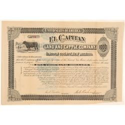 El Capitan Land and Cattle Bond   (105492)
