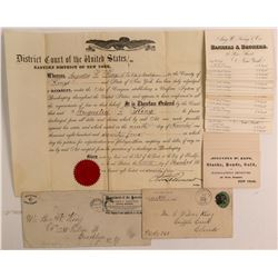 Aug. W. King, Banker & Mining Man, Ephemera   (107344)