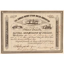 Sibbald Patent Steam Boiler Assoc Stock   (105631)
