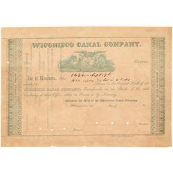 Wiconisco Canal Co Stock   (105604)