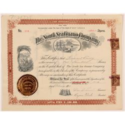South Sea Guano Company Stock Certificate   (107216)