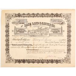 Dale Land & Cattle Co Stock   (83259)