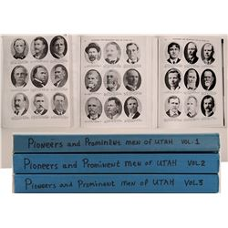 Pioneers & Prominent  Men of Utah (3 Volumes)   (105745)