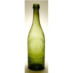 Fredericksburg Bottling Co. / Beer Bottle.    (78862)