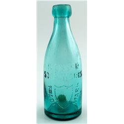 PIONEER SODA WORKS BOTTLE   (29751)