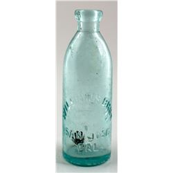 Soda Bottle / Williams Bros.    (30466)