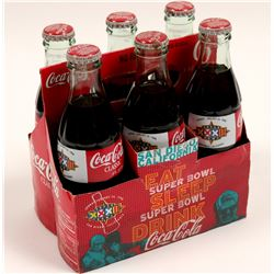 Coca- Cola Bottles / Full case / Superbowl XXX11   (102152)