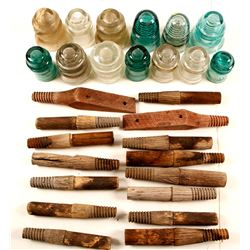 Insulators & Bass Wood Dowels   (76905)