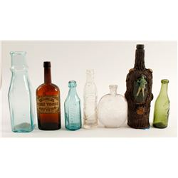 Kitchen Window Bottle Collection /  7 items   (61461)