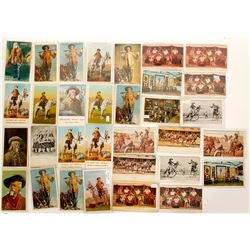 Buffalo Bill Cody Lithograph Postcards   (91446)