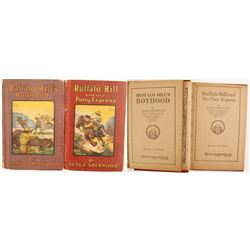 Early Buffalo Bill Books by Sherwood/Whitman (2)   (89843)