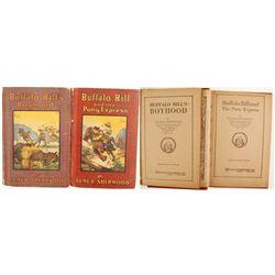 Early Buffalo Bill Books by Sherwood/Whitman (2)   (89843)