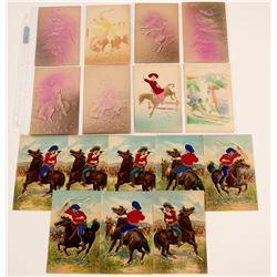 Embossed / Raised Figures Cowboys   (104956)