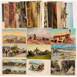 Wagon, Stagecoaches   (104177)