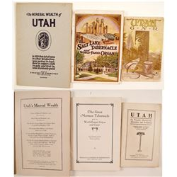 Utah Travel Pamphlets (3)   (86460)