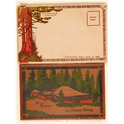 Happy Birthday Redwood Plaque, Alma, CA   (105648)