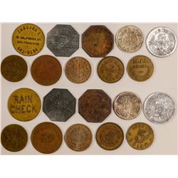 Ten Historic Tokens   (102844)