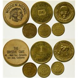 Santa Clara Area Tokens   (106515)