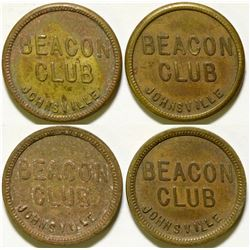 Beacon Club Tokens   (105244)