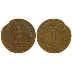 Knickerbocker Currency Token   (101963)