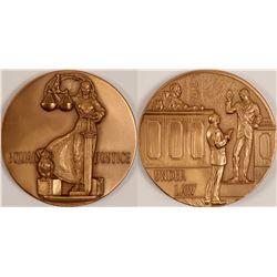 Equal Justice Medal   (102856)